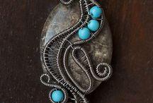 bijoux fil torsade
