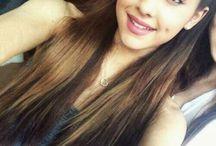 Ariana Grande!!!!!!!!!<3 / LOVE U MISS GRANDE!!!  / by Princess Purple