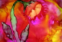 ART - Alcohol Inks, Yupo & More / by Bunny Jones