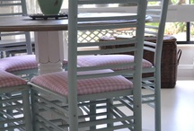 HANDPAINTED AND HANDMADE FURNITURE / by Darlene Greg