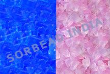 Indicating Silica Gel / Self-indicating silica gel is non-hazardous and indicating type, we can identify silica gel being full of moisture which can absorb a big amount of water from internal surface area.
