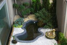 fontes de jardins