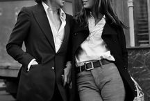 Famous Couple _Jaine Birkin and Serge Gainsbourg