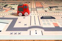 Let's Play Cars / Car Play Mats & More