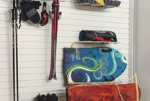Sports Storage Ideas / Mix-and-match these different storage and organization choices for all of your sports equipment