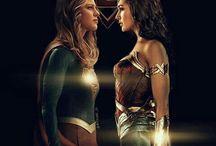 Supergirl and superheroes