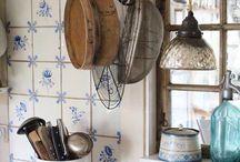 Fransk / Jeg ønsker at blande mit hjem med nordiske naturmaterrialer med den fransk antik.