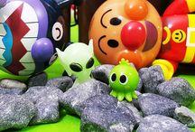 宇宙人とエイリアン❤アンパンマン アニメ&おもちゃ
