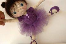 Вязанные куклы мк