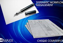 Cheque Counterfoil / Cheque counterfoils are cheques sent by companies to their customer, relating to their return on their investment (dividend).... http://maxxerp.blogspot.in/2013/09/maxx-systematic-workflow-management.html