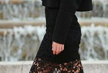 LACE / Everything lace in fashion. Lace is always a good idea.