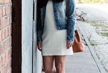 #mcfashion: Weißes Kleid und Beuteltasche von Mango