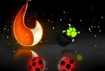 Miraculous Ladybug and ChatNoir
