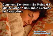 S'endormir plus facilement / Nos meilleures astuces et remèdes naturels pour s'endormir facilement et lutter contre l'insomnie.