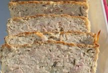 Terrines, pains de poisson