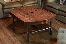 mesa de rústic a