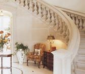 Interior Cast Stone / Cast stone as used in residential interiors. Fireplaces, columns, staircases, and other indoor cast stone.