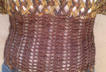 Crochê / Meus trabalhos de crochê.