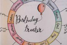 Birthday Tracker