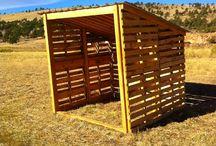 cabane chèvres