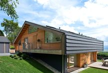 exterior wooden house