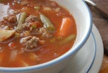 Soups / by Elizabeth Widner-Goad
