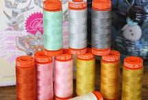 in the shop : threads at Crimson Tate