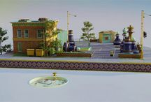 c4d animation_train