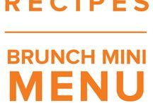 Brunch Mini Menu April 2015 / by Once A Month Meals