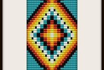 Beading Square Stitch / by Debbie Misuraca