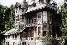 Houses the weird and wonderous!! / All shapes, all  sizes, all design's houses/buildings!!