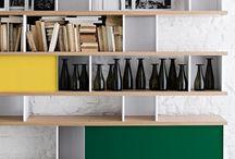 Estantes / Decoração nas estantes