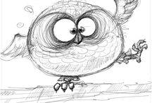 Owlings / by Ingrid Ann