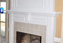 fireplace / by Sara Hyde
