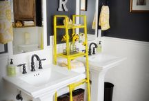 new house bathroom / by Tena Curtis