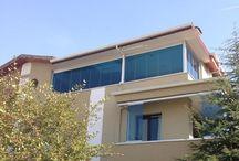 KCS Cam Balkon Sistemi / KCS cam balkon sistemi ile balkonlarınız da yepyeni bir atmosfer oluşturun.