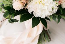 Palette of Petals on Southern Weddings