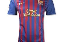 Barcelona 11-12 Home Soccer Jersey