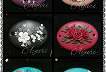 Polymer clay applique