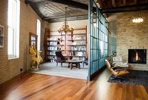 Loft window divider
