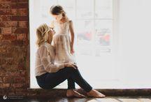 Мама и дочка, фотосессии
