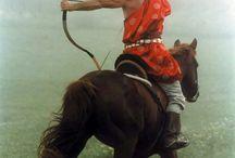 Magyar lovasíjászat