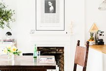 Composition / The arrangement of objects, artwork, furniture, and light...lessons in organization and eclecticism.