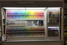 Painting  / Come Check out our new paint display! #colorlife #GeneralPaint