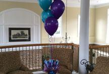 Balloon centerpieces / Balloon centerpieces of all types
