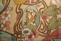 """Art Nouveau / Art Nouveau  is an international philosophy and style of art, architecture and applied art—especially the decorative arts—that was most popular during 1890–1910. English uses the French name """"Art Nouveau"""" (""""new art""""), but the style has many different names in other countries. A reaction to academic art of the 19th century, it was inspired by natural forms and structures, not only in flowers and plants but also in curved lines. Architects tried to harmonize with the natural environment."""