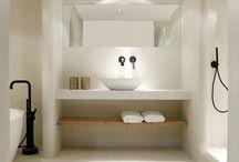 Betonstuc voor badkamers