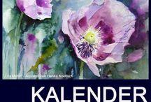 Kalender / calendar 2015 / Kalender mit Aquarellen von Hanka & Frank Koebsch / Calendar of watercolors by Hanka & Frank Koebsch #Kalender #calendar #watercolor #Aquarell  http://frankkoebsch.wordpress.com/kalender-2015/