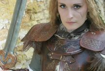 Female armour and warrior ladies / Realistic female armor, not that over sexualized crap