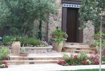 Entry Walkways / Teserra designs beautiful landscaping, backyards, custom pools and walkways to make your house a home.